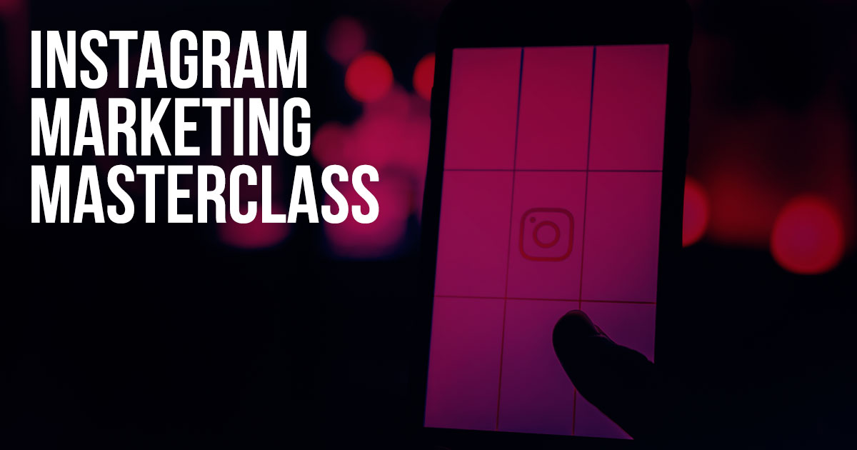 INSTAGRAM Marketing Masterclass!