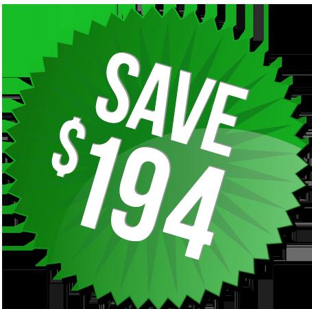 save $298