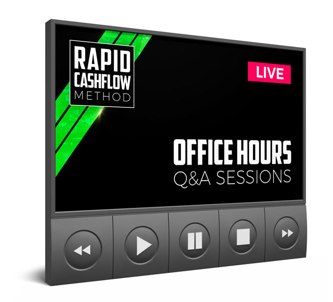 'Rapid Cashflow Method' In The Office Q&A Sessions