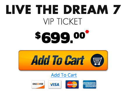 VIP Admission Ticket $699 - Buy Now!
