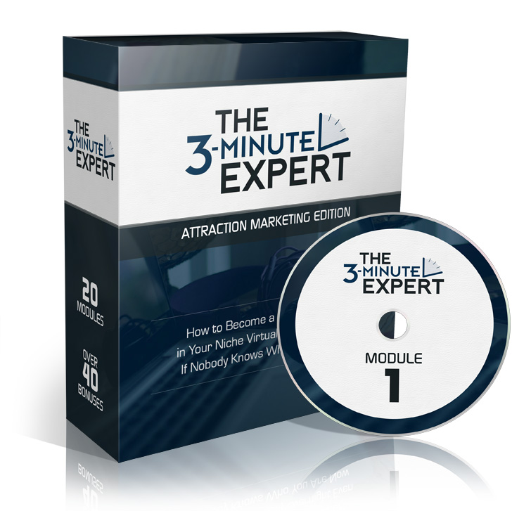 3 Minute Expert - Attraction Marketing Edition