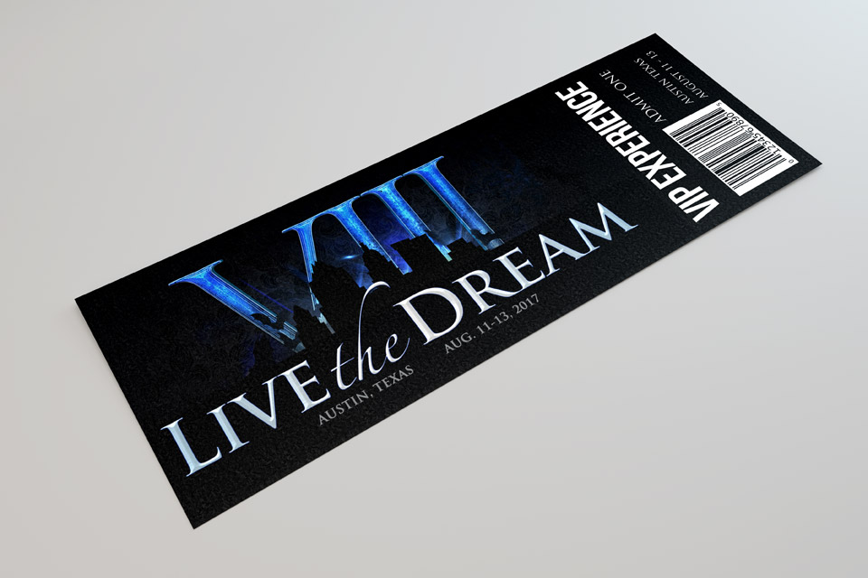 Live the Dream VIII VIP Experience