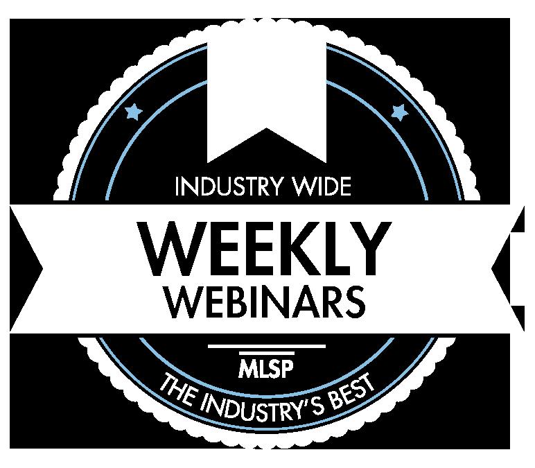 MLSP Weekly Wednesday Webinars