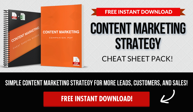 CONTENT MARKETING STRATEGY CHEET SHEETS
