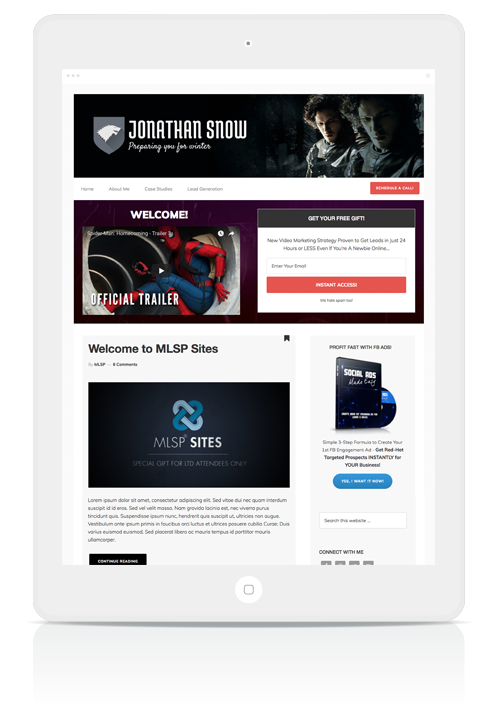 MLSP Sites