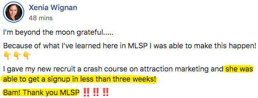 MyLeadSystemPRO Success Story Testimonial
