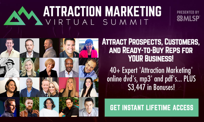 Attraction Marketing Virtual Summit