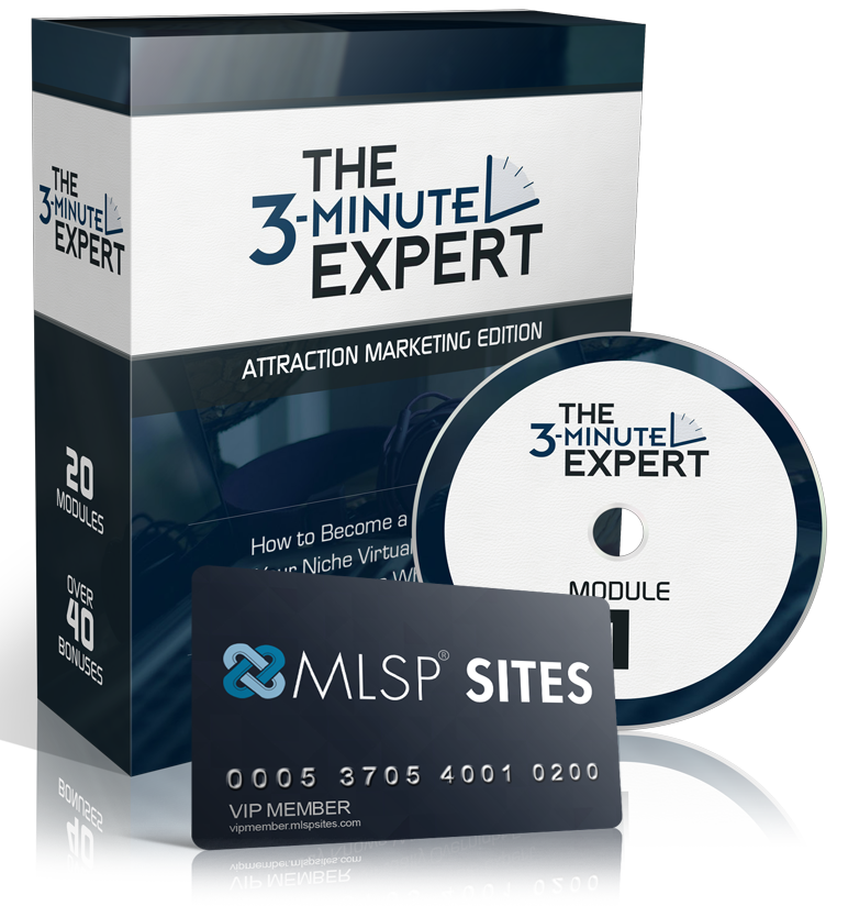 BUILD YOUR BLOG & BRAND NOW 3 Minute Expert