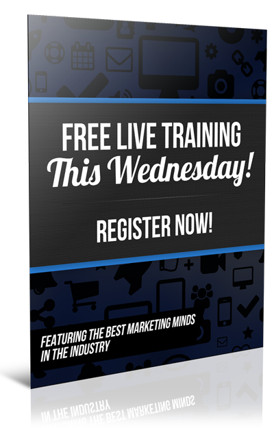 FREE LIVE TRAINING THIS WEDNESDAY