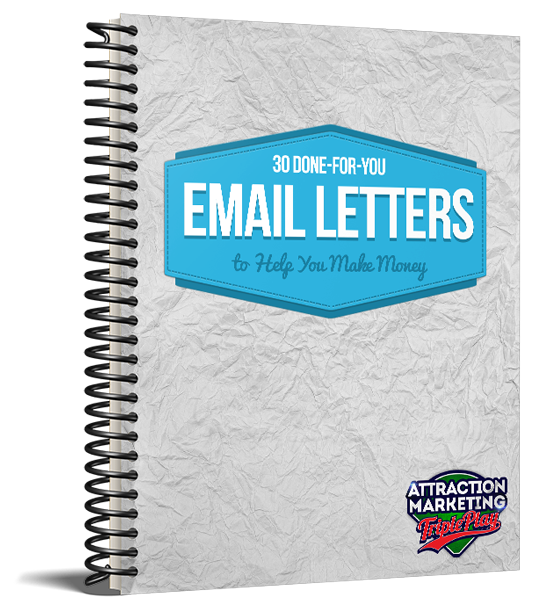 30 DONE-FOR-YOU E-mail Letters to Help You Make Money