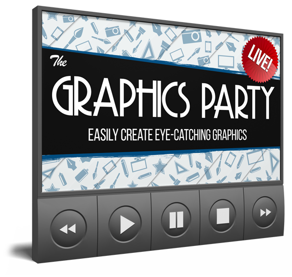 LIVE Graphics Party to Easily Create Eye-Catching Graphics