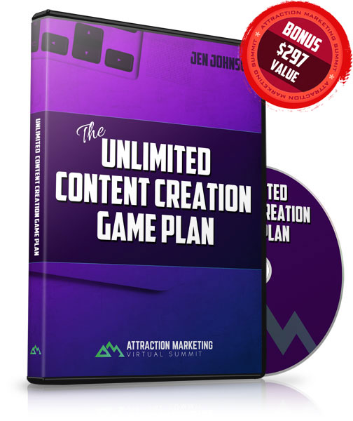 Unlimited Content Creation Game Plan