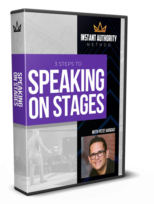 3 Steps to Speaking on Stages