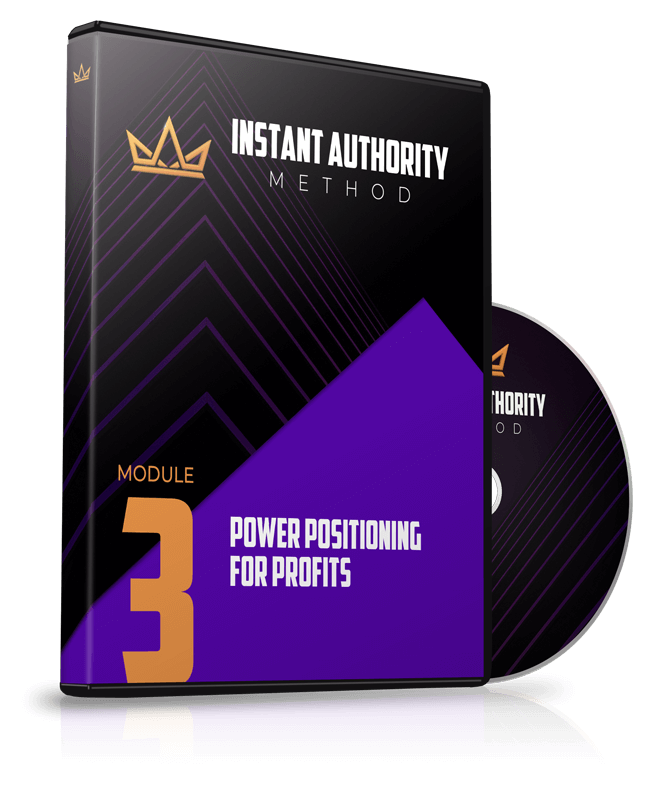 Module 3 - Power Positioning for Profits