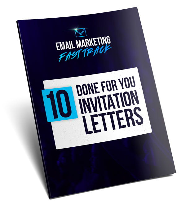 10 Done For You 'Invitation Letters