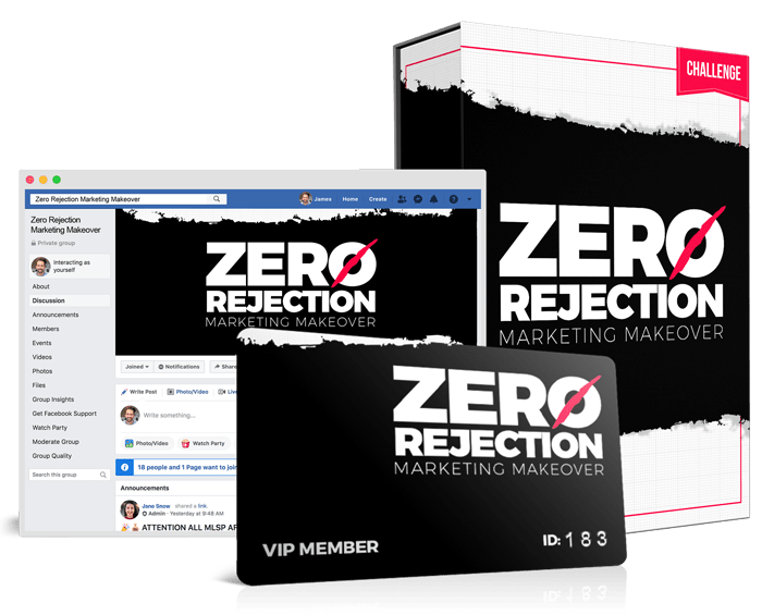 Zero Rejection Marketing - 5 Day Challenge