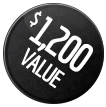 1,200 VALUE