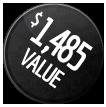 1,485 VALUE