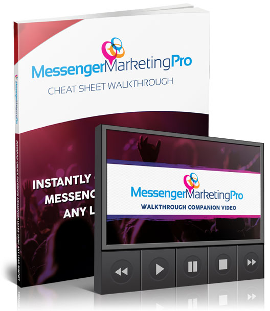 Messenger Marketing Pro Cheat-Sheet PDF + Video Walkthrough