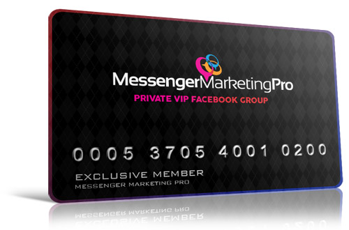 Messenger Marketing Pro Facebook Group