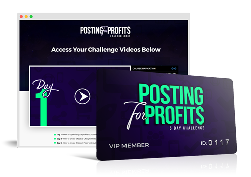 'POSTING FOR PROFITS' 5-DAY CHALLENGE
