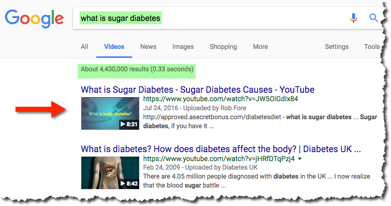 Sugar Diabetes Search