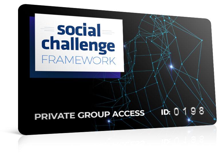 'Social Challenge Framework' FB Group