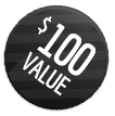 100 VALUE