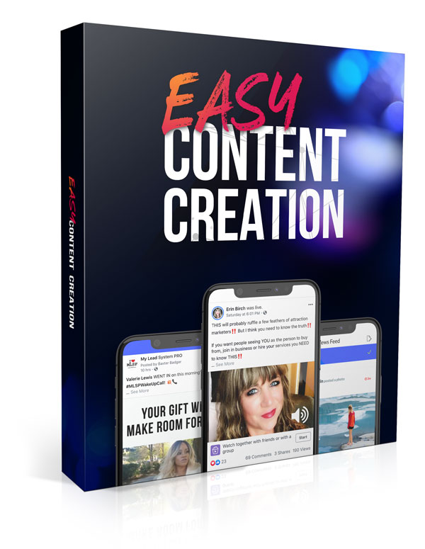 Easy Content Creation