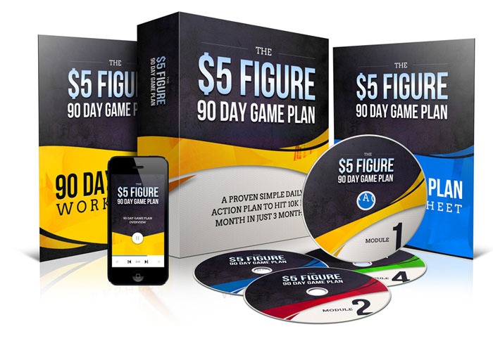 THE 5 FIGURE 90-DAY GAME PLAN
