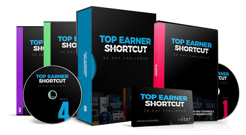 A 30-DAY 'TOP EARNER SHORTCUT' CHALLENGE