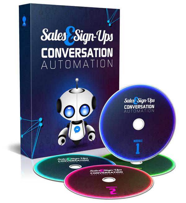SALES & SIGNUPS CONVERSATION AUTOMATION