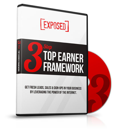 Unlock the 3-Step 'Top Earner Framework,'