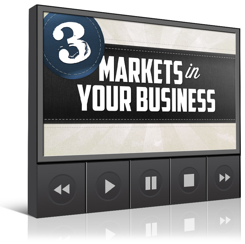The 3 Markets In Your Business