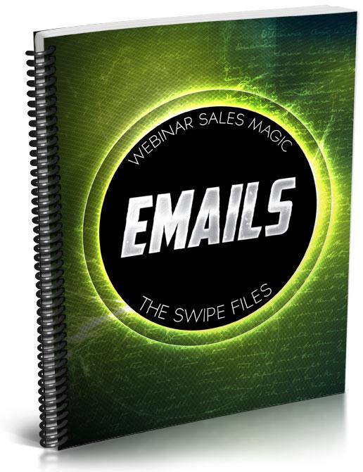 Bonus Emails Swipe File